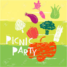 Picnic Template Summer Picnic Party Template Poster Party Invitation Card