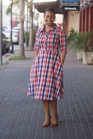 Kate Burnt Orange Navy Plaid Dress Jade Mackenzie Modest