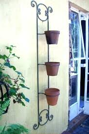 wrought iron plant hangers wrought iron plant hangers hook wall outdoor free standing hanger wrought iron plant hangers for decks