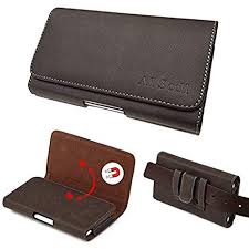 AISCELL Carrying Case Brown Suede Leather Pouch ... - Amazon.com