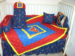inexpensive crib bedding sets new crib nursery bedding set made w superman fabric mini crib bedding