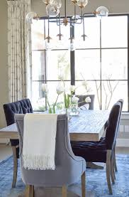 decked styled spring tour transitional dining roomshome toursinterior