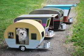 Welcome to the trailer park, doggie style, where custom-made campers