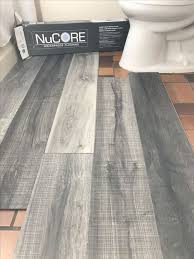 Wide Plank Tile For Bathroom. Great Grey Color! Great Option If You Canu0027t  Do Wood Throughout. | Our Bathroom | Pinterest | Wide Plank, Gray Color And  Gray