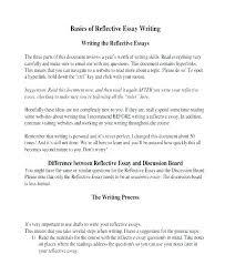 Reflective Essay Writing Examples Reflective Essays Examples Kliqplan Com