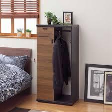 Coat Rack With Drawers atomstyle Rakuten Global Market Closet hanger rack cabinet 78