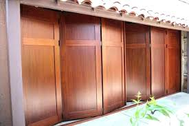 horizontal folding garage doors garage designs horizontal