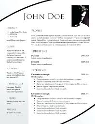Free Resume Download Templates Google Resumes Free Templates Word ...