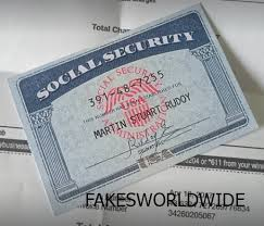 - Security X Social Fake Store Card Documents Notes