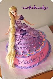 Barbie Rapunzel Cake Barbie Cake Ideas Barbie Cake Designs