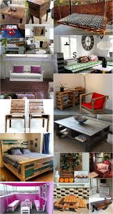 shipping pallet furniture ideas. Wooden Pallets Projects Ideas - Beautiful Shipping Furniture, Unique Upcycled Outdoor Bench, Pallet Furniture