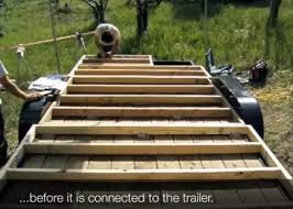 Small Picture How to Floor and Frame a Tumbleweed Tiny House on a Trailer Tiny