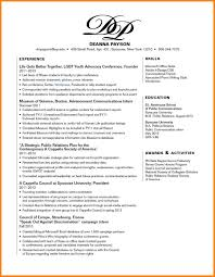 Resume Skills Section Sample Resume