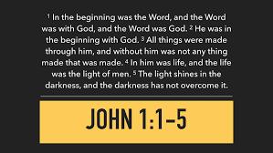 9.3.17 - The Gospel of John: The Word — 2monkeys2017@gmail.com