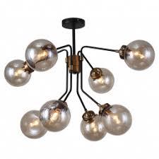 <b>Люстры</b> со стеклянными шарами