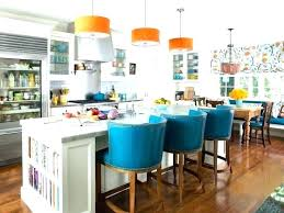 burnt orange leather bar stools breakfast blue pick up today industrial kitchen ge brilliant that add