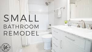 diy small bathroom remodel bath