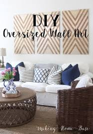 inexpensive wall art diy