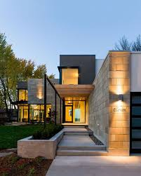 fantastic modern house lighting. Fantastic Subway White Stone Wall Accent Added Modern Lights Also Small Porch As Decorate Minimalist Entrance Ideas For Home Inspirations House Lighting