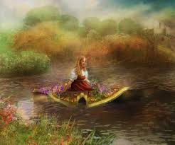 the lady of shalott lessons tes teach the lady of shalott by inertiak on