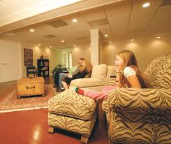 lighting for basement ceiling. A Dropped Ceiling Gives Your Basement Finished \u201cupstairs\u201d Lighting For S