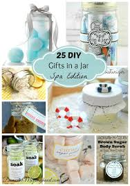 25 Diy Gifts In A Jar Spa Edition Domestic Mommyhood Diy Gifts In A Jar Jar Gifts Diy Gifts