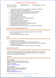 Position or title, name of view all no experience resumes. Cleaner Cv Template Tips And Download Cv Plaza