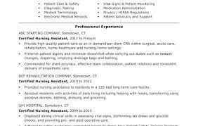 cna job description resumes cna nursing assistant job description resume for beautiful template