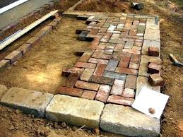 Brick Patio Patterns Stunning Brick Patio Design Patio Brick Patterns Ideas And Designs