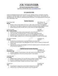 Volunteer Resume Builder Therpgmovie