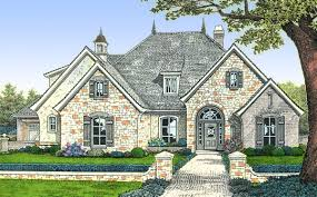 french villa style house plans home design and style