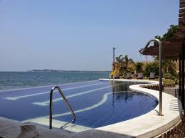 Infinity pool beach house Mediterranean Resort In La Union With Infinity Pool Living Art White House Beach Travel Informations And Inspirations Resort In La Union With Infinity Pool Travel Informations And