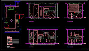 Design Cad 2d Download Modular Kitchen Cad Drawing Free Download Autocad Dwg