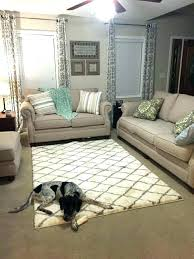 rug on carpet pads over rugs living room bedroom modern area at