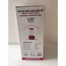 Đèn sạc chiếu sáng khẩn cấp Kentom KT 3200PL (Đỏ) bóng led - PTV