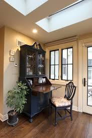 accessories home office tables chairs paintings. painted secretary desk with black window trim home office farmhouse and traditional wall clocks accessories tables chairs paintings