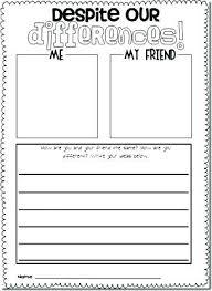friendship recipe template. friendship writing template homefitinfo