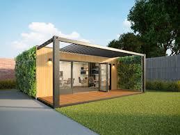 office pod. ECO - DUO Office Pod Garden.jpg X