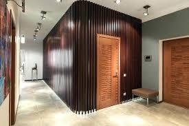 wood slat wall. Wood Slat Wall Diy With Directional Track Lighting Kits Entry . I