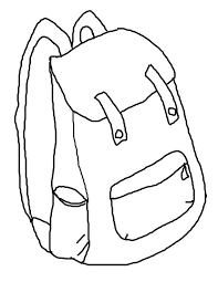 Small Picture Backpack Printable Coloring Page Back To School Printable