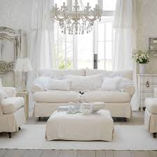 country chic living room furniture. white sofa and chairs in front of large french doors country chic living room furniture d