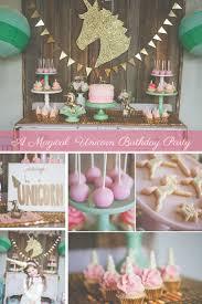 A Magical Unicorn Birthday Party