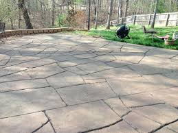 Stained concrete patio gray Staining Old Concrete Overwhelming Staining Textured Concrete Patio Patio Stamped Stained With Regard To Stunning Stamped And Stained Concrete Your Home Design Travelinsurancedotaucom Decor Overwhelming Staining Textured Concrete Patio Patio Stamped