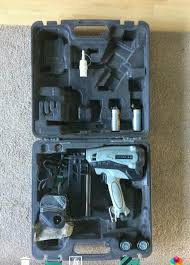 hitachi 2nd fix nail gun. hitachi nt65gs 2nd fix nail gun n