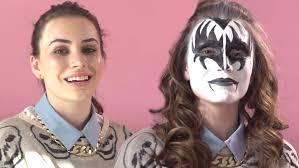 gene simmons makeup. gene simmons shows you how to perfectly apply his demon make up on daughter sophie tweed-simmons « wcbs-fm 101.1 makeup t