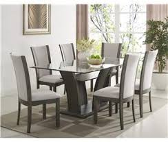 crown mark camelia grey 5 piece dining set