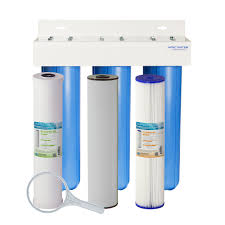 Whole House Water Sediment Filter Whole House 20 Sediment Chlorine And Iron Combo Filter Apec Water