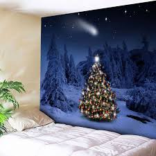christmas wall art tapestry