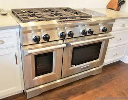 kitchenaid 48 inch range. white painted kitchen in a coal valley, il with 48 inch kitchenaid gas range . kitchenaid e