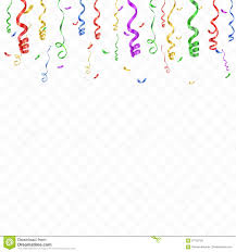 Celebration Background Template With Confetti And Colorful